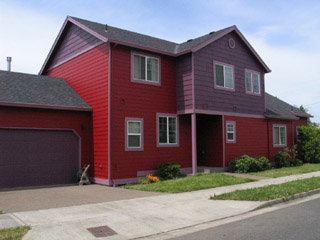 June 27, 2008. Our House Is Red ...