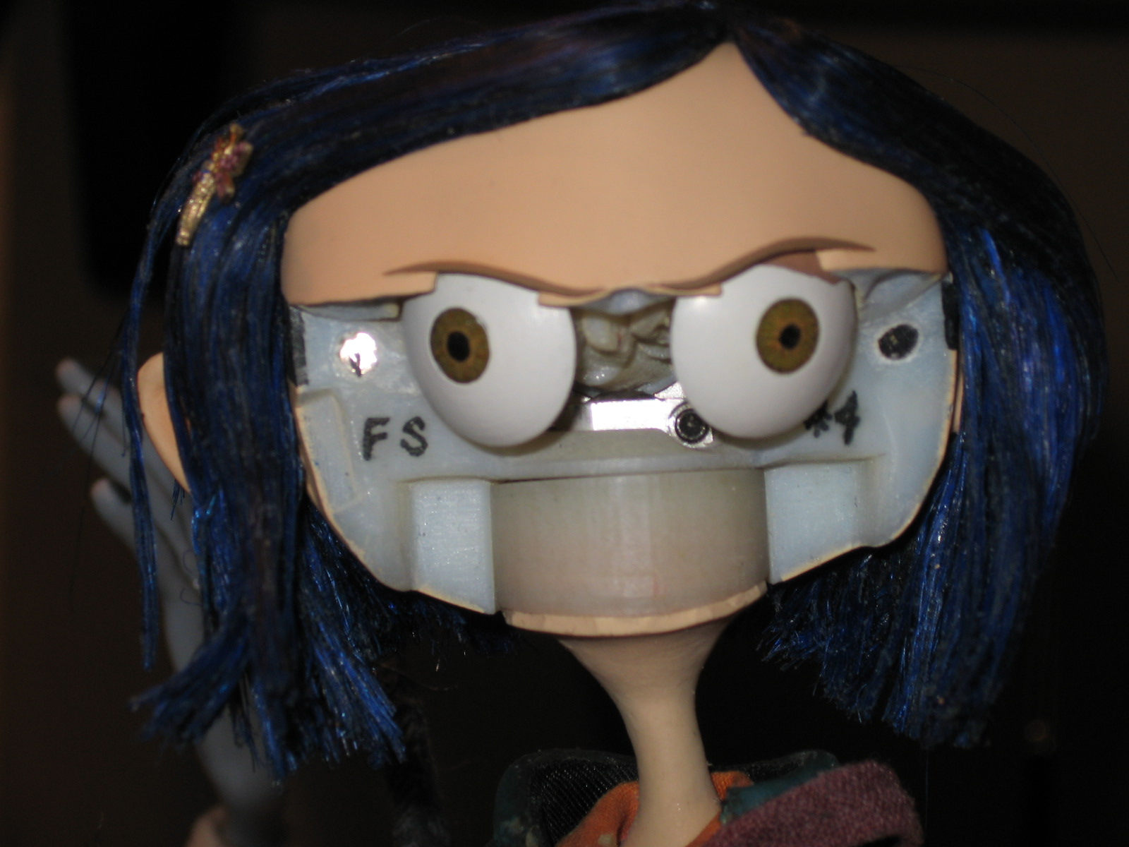 The Scarlet Letters Coraline Puppet Technology With Photos
