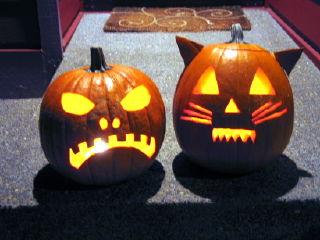 skull and fraidy cat